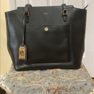 Black Ralph Lauren bag!!